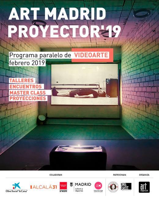 Participación en #artmadridproyector19 con la obra CHINA (Febrero 2019)