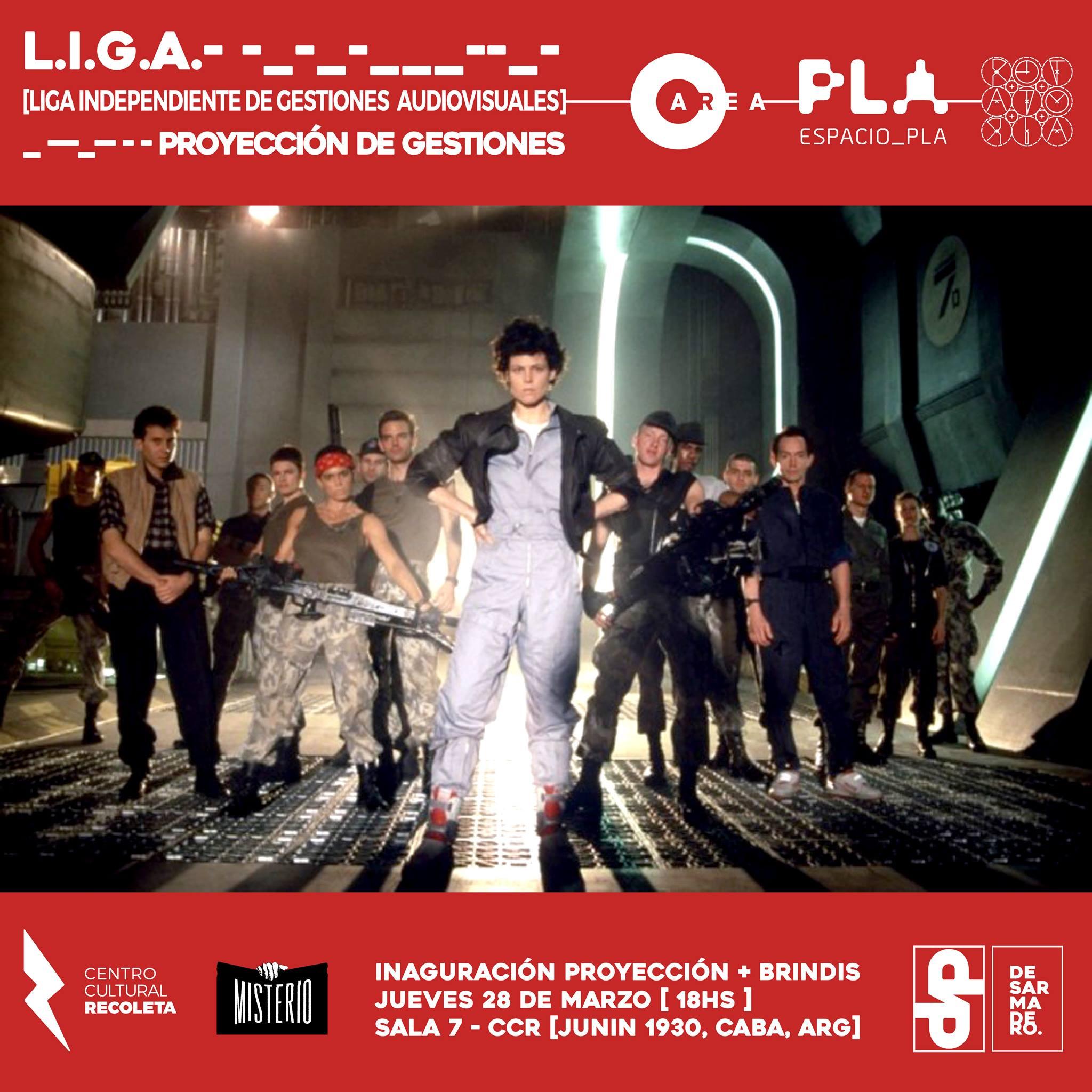 Participación en L.I.G.A. en Espacio PLA (Marzo 2019)