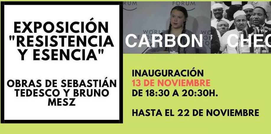 Inauguración de la muestra Resistencia y Escencia, Barcelona (Noviembre 2019)