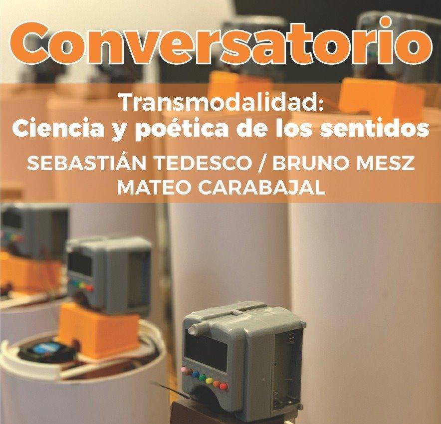 Conversatorio sobre Transmodalidad durante la muestra Entre Sentidos, Tucumán (Mayo 2019)